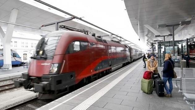 Hauptbahnhof Salzburg (Bild: Markus Tschepp (Symbolbild))