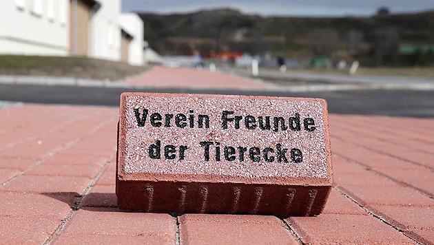 Für eine Spende von 39 Euro erhalten Sie einen Pflasterstein mit Ihrem Namen.