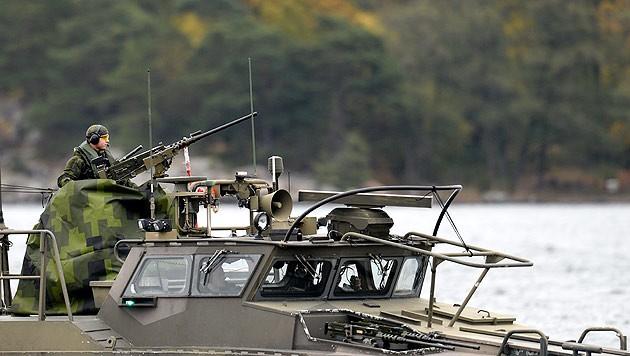 Die schwedische Marine im Einsatz