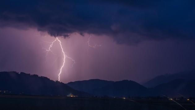 Gewitter im Anmarsch (Bild: Patrick Neves)