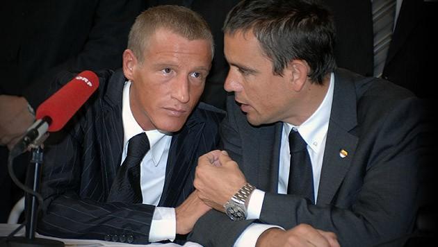 Ermittlungen in der Causa FPÖ-Provisionen gegen Stefan Petzner (links) und Uwe Scheuch (rechts) (Bild: Eveline Hronek)