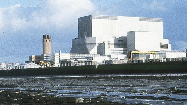 Das Atomkraftwerk Hinkley Point (Bild: Kronen Zeitung)
