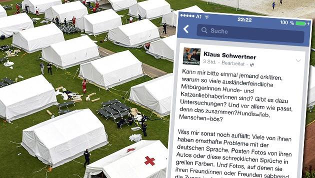 (Bild: APA/ALEXANDER SCHWARZL, facebook.com/Klaus Schwertner)