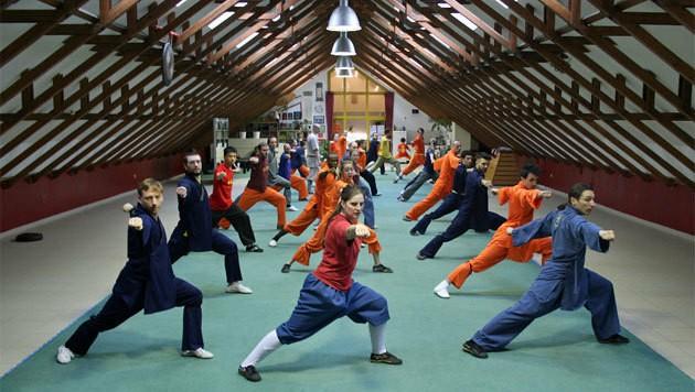 So wird im Wiener Shaolin Tempel trainiert. (Bild: Shaolin Tempel Wien)