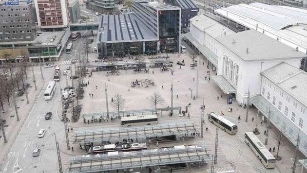 Das Bahnhofsviertel: Schlägereien, Alkoholexzesse und Verkehrschaos. (Bild: Markus Tschepp)