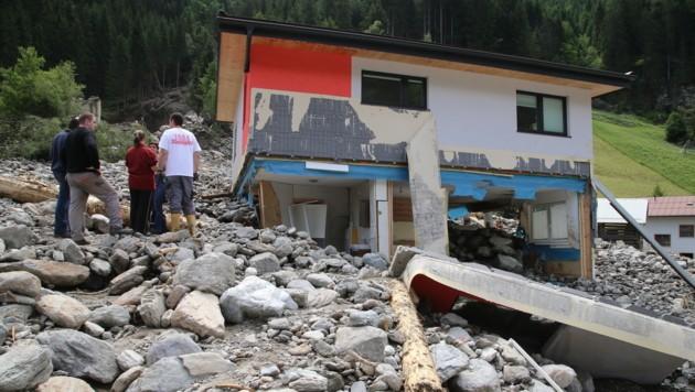Der Schaden in Sellrain und See beläuft sich auf rund 30 Millionen Euro. (Bild: Christof Birbaumer)