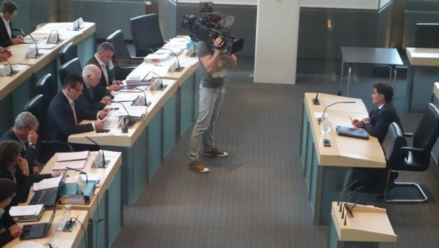 """Tschabuschnig vor U-Ausschuss: """"Kein Auftrag von der Politik."""" (Bild: Thomas Leitner)"""