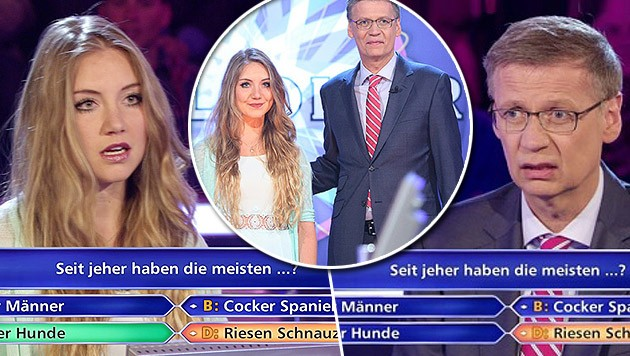 Tanja Fuß hatte bei Jauch Pech - jetzt wird sie verhöhnt und leidet unsäglich. (Bild: RTL)
