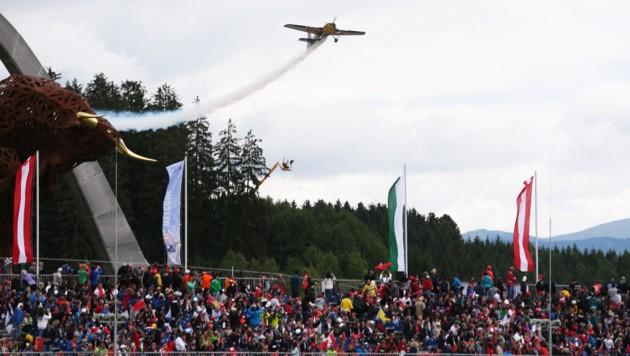 Flugshow von Hannes Arch (Bild: GEPA)