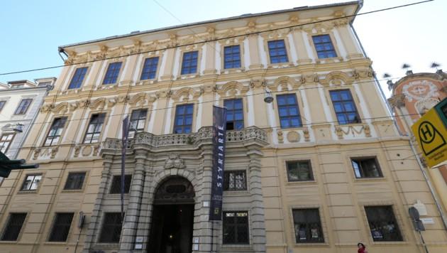 """Das Palais Attems in der Grazer Sackstraße: Soll hier ein """"Haus der Musik"""" entstehen? (Bild: Jürgen Radspieler)"""