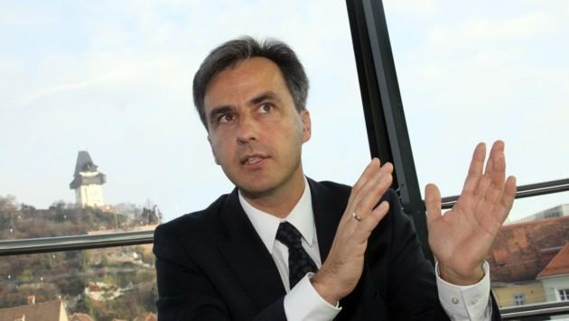 Der Grazer Bürgermeister Siegfried Nagl hat viele Wünsche an die neuen Landesregierer... (Bild: KRONEN ZEITUNG)