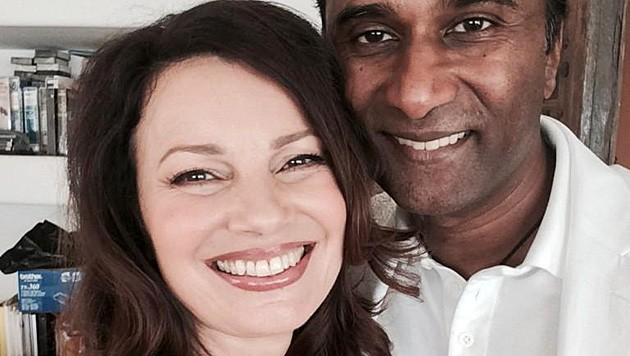 Seit 2014 ist Drescher mit dem Wissenschaftler Shiva Ayyadurai verheiratet. (Bild: twitter.com/frandrescher)