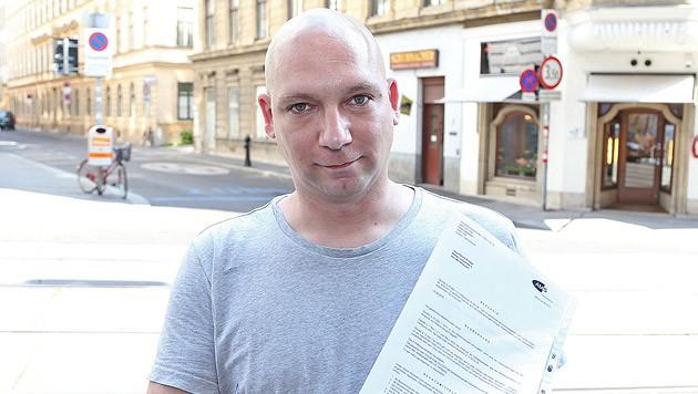 Enttäuscht vom AMS: Der Kurs bringt Jens-Patrick K. einen Job, dafür wird ihm das Geld gestrichen. (Bild: Zwefo)