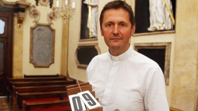 Dompfarrer Peter Allmaier (Bild: Uta Rojsek-Wiedergut)