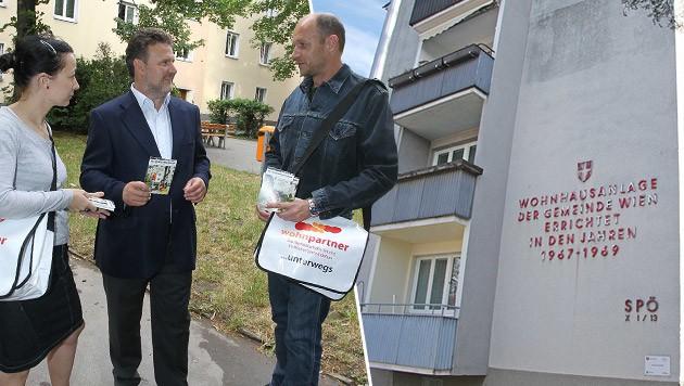 Wohnbaustadtrat Ludwig (Mi.) will die Pläne noch nicht kommentieren. (Bild: Peter Tomschi, Martin A. Jöchl)