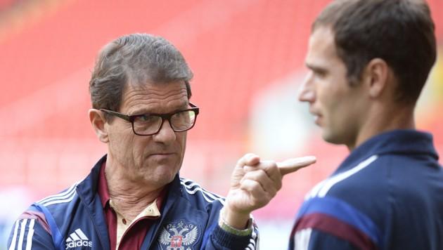 Der russische Trainer Fabio Capello (Bild: APA/ROBERT JAEGER)