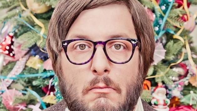Werbung für den Brillenhersteller Andy Wolf. (Bild: Huber)