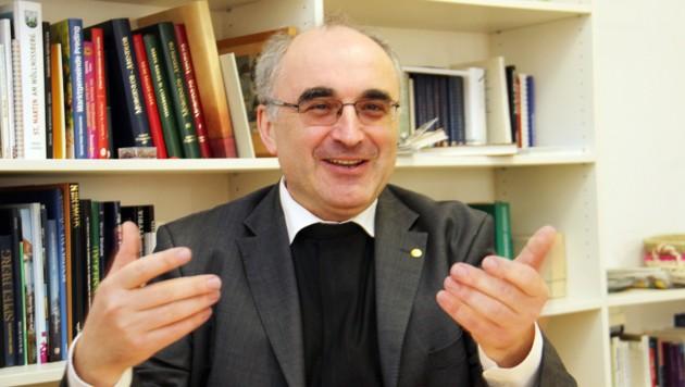 Der neue steirische Bischof Wilhelm Krautwaschl (Bild: Christian Jauschowetz)