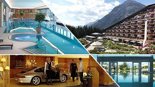 Hochkarätig: 140 Gäste der Bilderberg-Konferenz verbringen vier Tage im Interalpen-Hotel Tyrol. (Bild: interalpen.com)