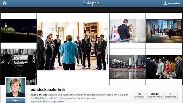 (Bild: instagram.com/bundeskanzlerin)