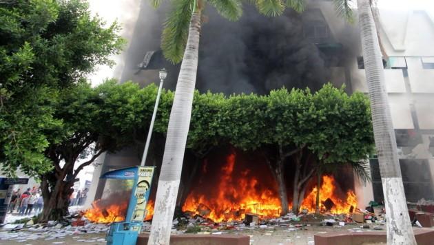 (Bild: APA/EPA/Rene Araujo)