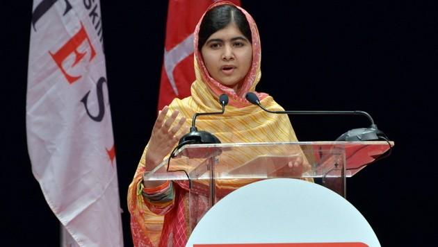 Malala Yousafzai (Bild: APA/EPA/Alva Viarruel)