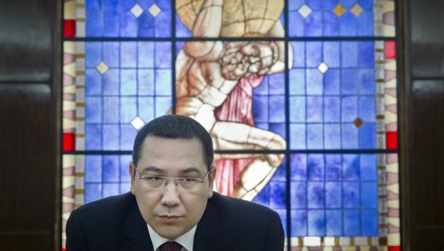 Victor Ponta (Bild: AP)