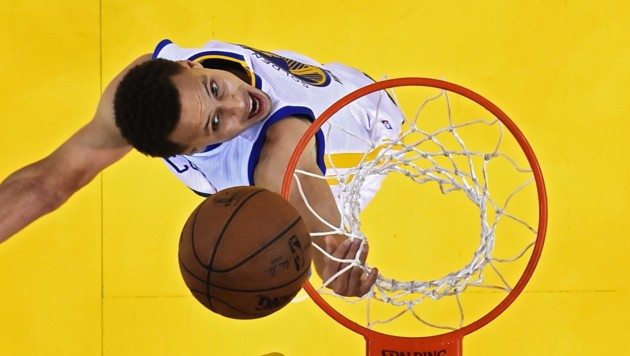 Golden-State-Ass Stephen Curry (Bild: APA/EPA/JOHN G. MABANGLO / POOL)