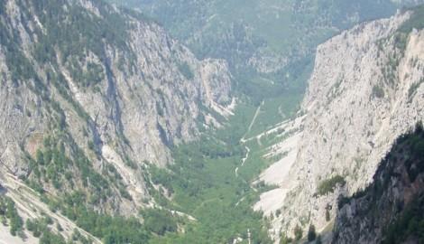 Das Höllental auf der Rax (Archivbild) (Bild: Wikicommons)