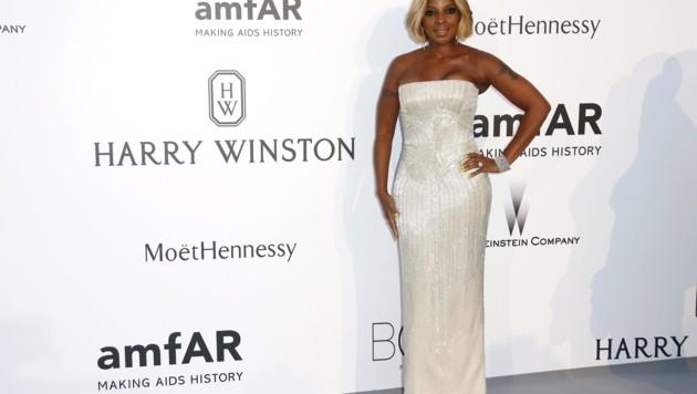 Mary J. Blige (Bild: APA/EPA/IAN LANGSDON)