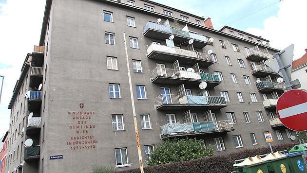 Ein Gemeindebau in Wien (Bild: Zwefo)
