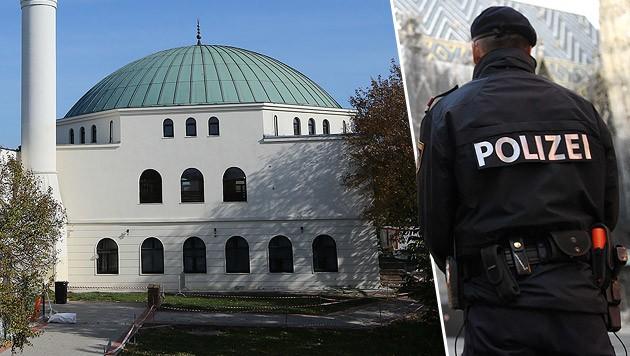 Das Islamische Zentrum Wien im Bezirk Floridsdorf (Bild: Peter Tomschi, APA/HELMUTH FOHRINGER)