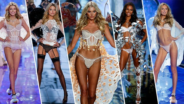 Himmlisch: die Laufstegschönheiten von Victoria's Secret (Bild: Victoria's Secret)