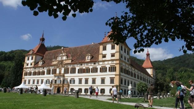 Das Schloss Eggenberg. (Bild: Christian Jauschowetz)