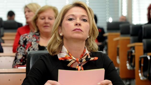 Die frühere FPÖ/BZÖ-Politikerin Elisabeth Kaufmann-Bruckberger