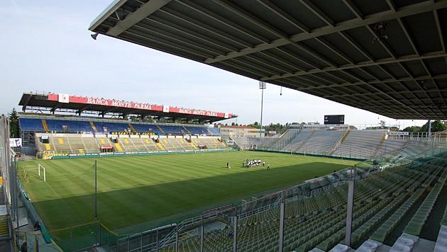 """Das """"Stadio Ennio Tardini"""", die Heimstätte des FC Parma."""