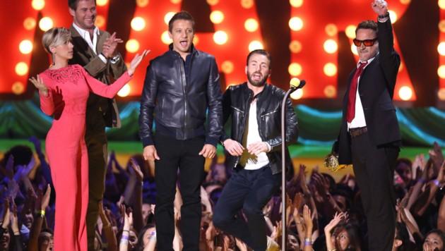 Robert Downey Jr. wurde mit dem Generation Award ausgezeichnet. (Bild: Matt Sayles/Invision/AP)
