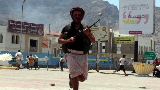 Saudi-Arabien fängt Rakete aus dem Jemen ab