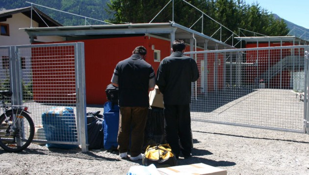 In Matrei in Osttirol wurden Flüchtlinge schon vor Jahren in Container-Dörfern untergebracht.