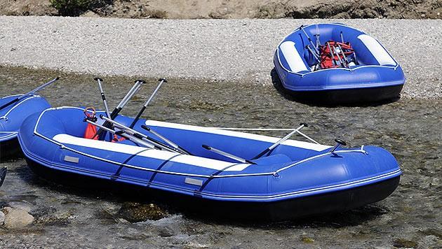 Vier Schlauchboote ließen die unbekannten Täter mitgehen. (Symbolbild) (Bild: thinkstockphotos.de)