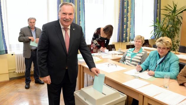 Nach der historischen Wahl braucht die SP Bruck unter Hans Straßegger einen politischen Partner.