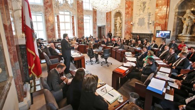 Für 2020 haben die Oppositionsparteien im Landtag einige Themen auf der Agenda. (Bild: Christof Birbaumer/Kronenzeitung)