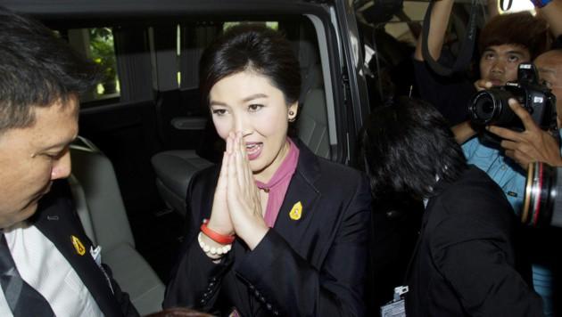 Thailands frühere Regierungschefin Yingluck Shinawatra