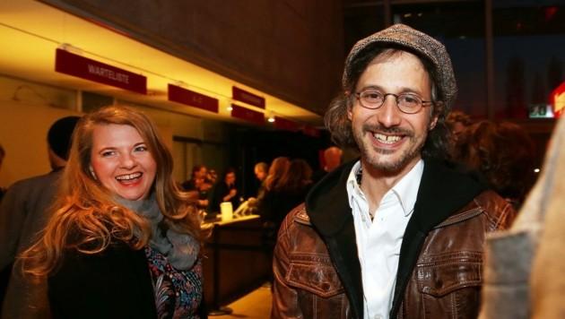 Ulrike Beimpold und Michael Ostrowski in Feierlaune