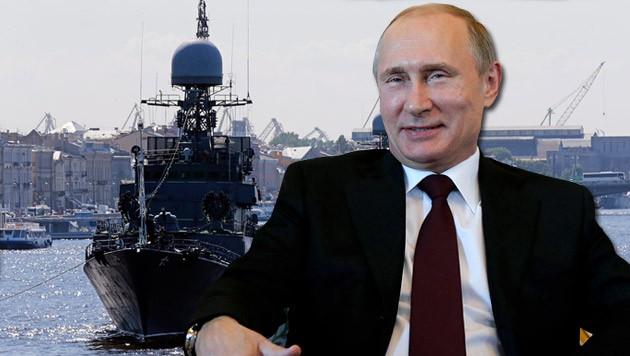 Nach Spekulationen über seine Gesundheit hat sich Putin am Montag wieder öffentlich gezeigt.