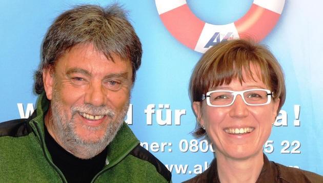Fritz Gurgiser und Angelika Kirchmaier referieren am Dienstag (17. März) am Weerberg.