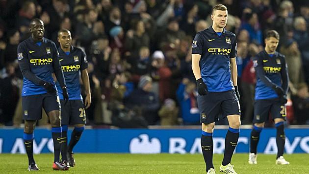 Hängende Köpfe bei Manchester City