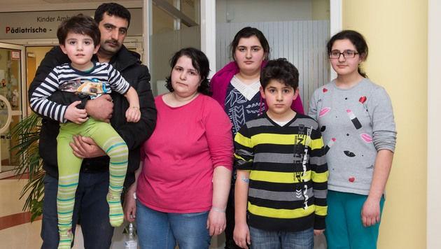 Vater Ilkay Cetin konnte seine Frau und die Kinder wieder in die Arme schließen.
