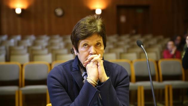 Hella Ranner bei der Erstverhandlung in Graz im Jahr 2014