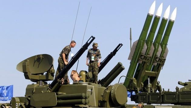 Russische Fliegerabwehrraketen